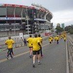 """2.300 personas corrieron en el """"Dow Team Race"""""""