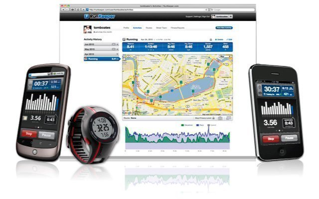 Runkeeper, aplicación para smarthphones