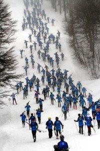 Largó el 28vo Tetratlón Chapelco, el gran evento deportivo del invierno