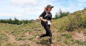 Trail running con ceta el glaciar Cerro Castillo
