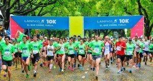 LAN reunió a más de 8.000 corredores en la carrera LANPASS 10K en Buenos Aires