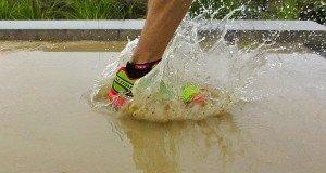 Entrenar con lluvia, un mal necesario para para los corredores
