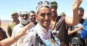 Rachid El Morabity, el rey del desierto, en El Cruce Columbia 2015