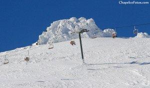 Cerro Chapelco a pleno en temporada alta