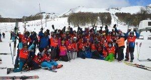 """Quinta semana del plan de esquí """"Aprendiendo en la Nieve"""""""