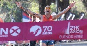 Matias Roth Ganó La Media Maratón  21k Axion Energy Buenos Aires