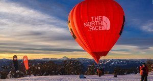 Con más de 5800 esquiadores Chapelco voló en globo