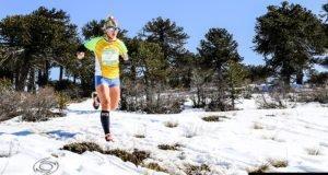 Sergio Pereyra y Roxana Flores se quedaron con una etapa a pura nieve del Salomon K21 Series copa Optitech