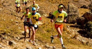 Matías Urrutia y Adriana Vargas se quedaron con la etapa de La Cumbrecita del Salomon K21 series copa Optitech