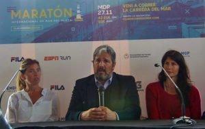 Presentaron oficialmente el Maratón Ciudad de Mar del Plata 2016