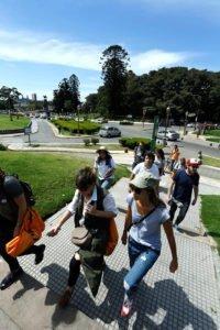 Se realizó el lanzamiento del Trekking Urbano de la ciudad de Buenos Aires