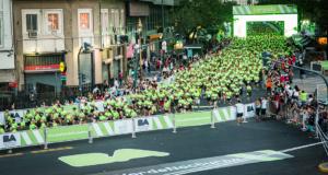 Más de 5.000vecinos participaron de la primera Carrera Nocturna Ciudad Verde