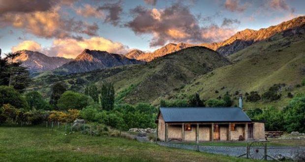 Seis alojamientos rurales en Nueva Zelanda