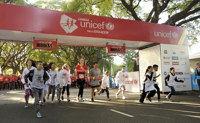 10 años de la Carrera UNICEF por la Educación