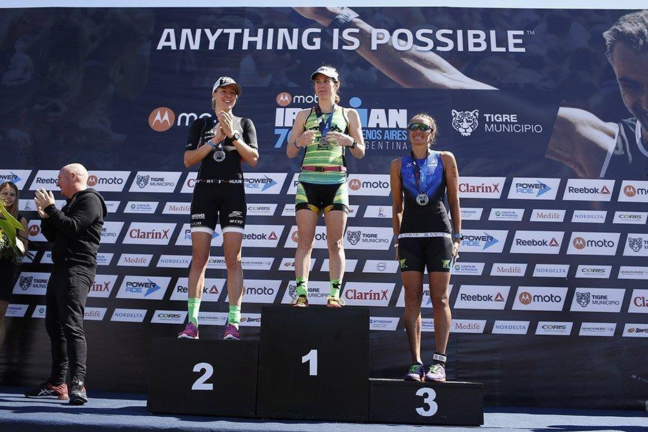 Sanders y Chura ganaron el Ironman 70.3 Buenos Aires