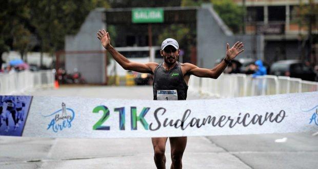 Méndez y Estrada se impusieron en los 21k Sudamericano