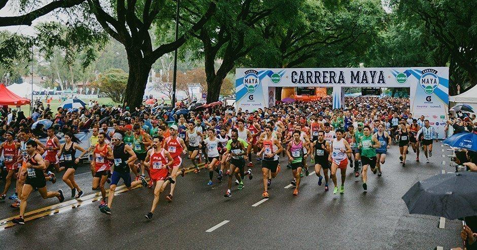 Se celebró una nueva edición de la Carrera Maya Jumbo