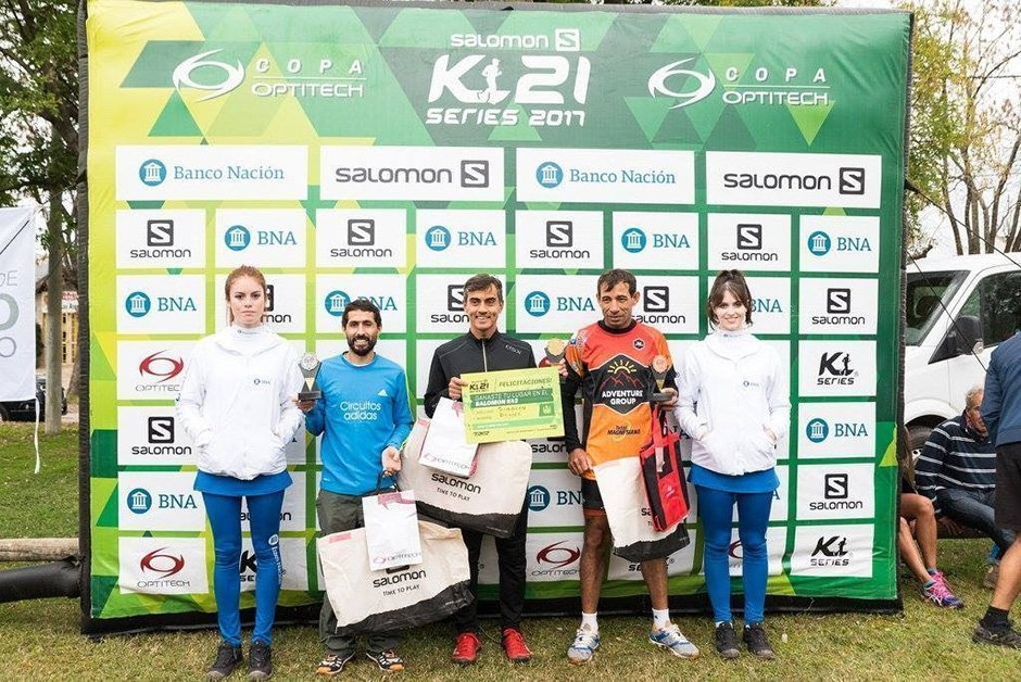 Simbrón y Doblas ganadores del k21 de Areco