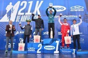 Luis Molina ganó los 21K de Norte a Sur