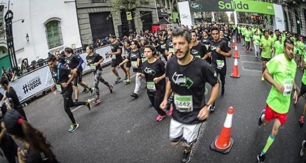 Más de 6.000 personas corrieron la carrera Ciudad Verde